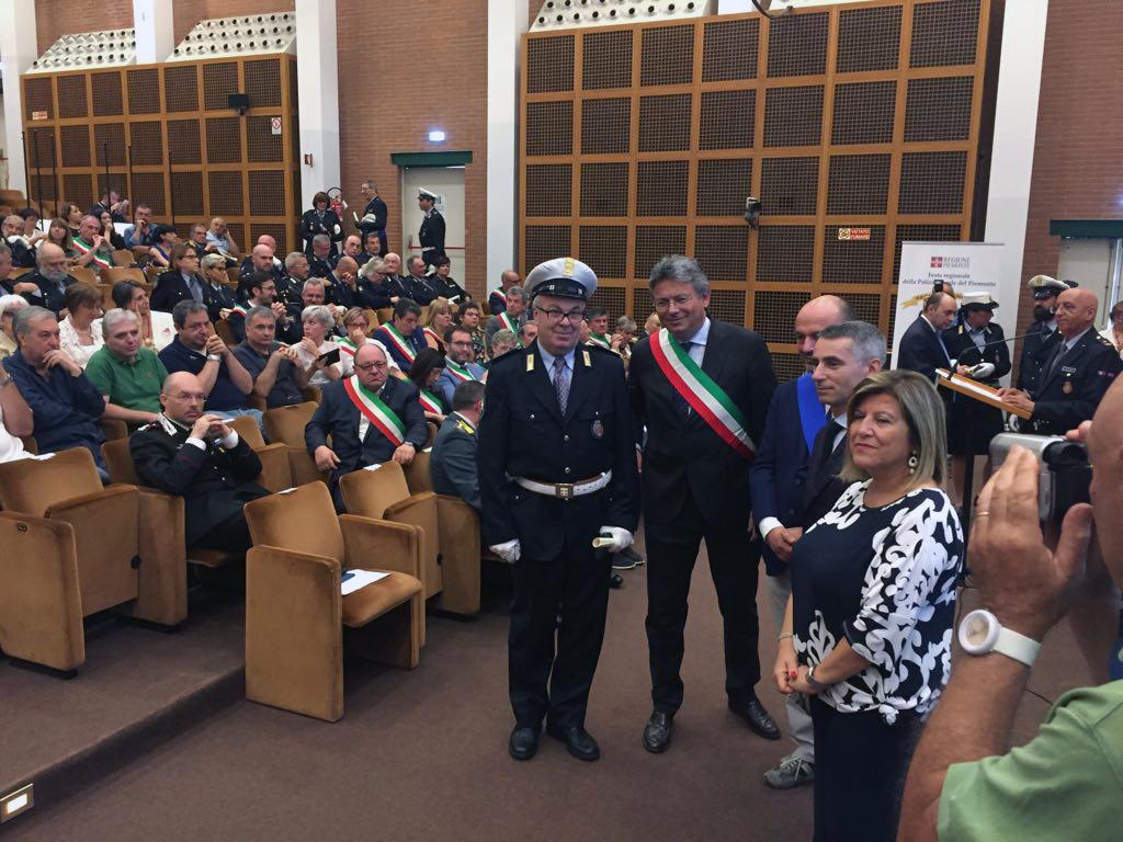 La premiazione dell'assistente Massimo Selva