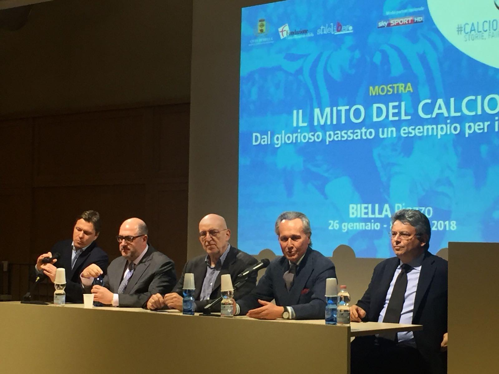 Da sinistra Alessandro Alciato, Gabriele Pinna, Fabrizio Lava, Franco Ferraris e Marco Cavicchioli