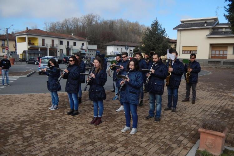 La banda musicale di Mottalciata e Castellengo