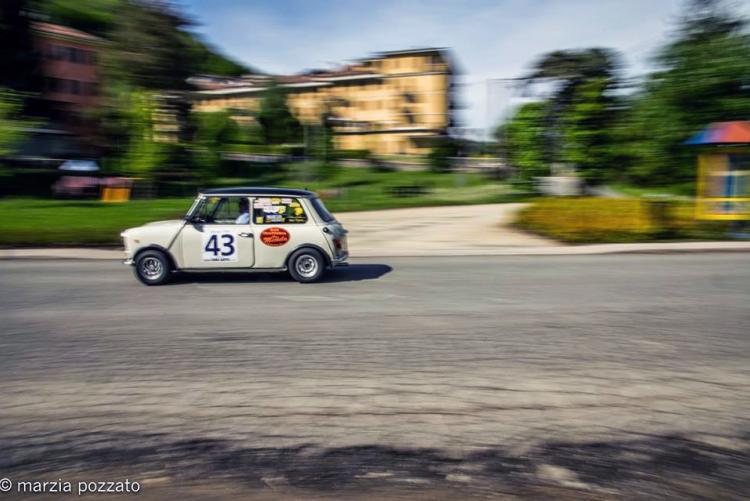 Auto d'epoca a Biella (foto: Facebook/Biella Classic - Marzia Pozzato)