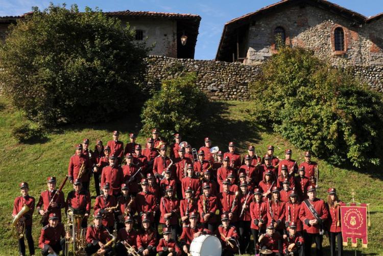 La banda musicale di Candelo San Giacomo (Foto: Facebook/Stefano Pezzin)