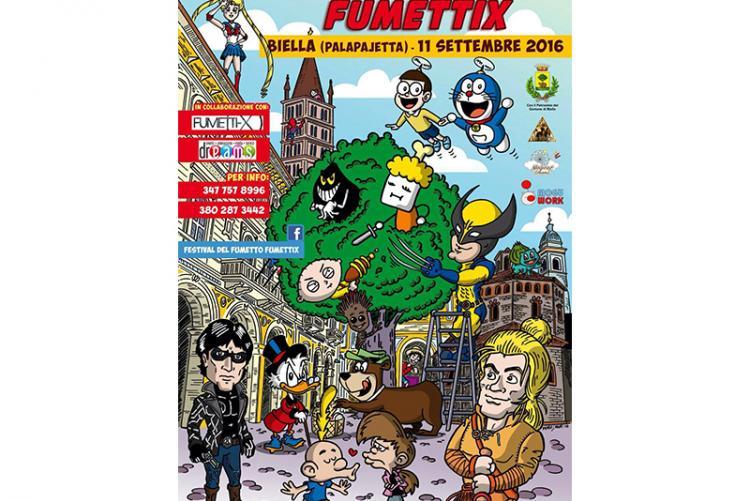 La locandina del Festival del Fumetto