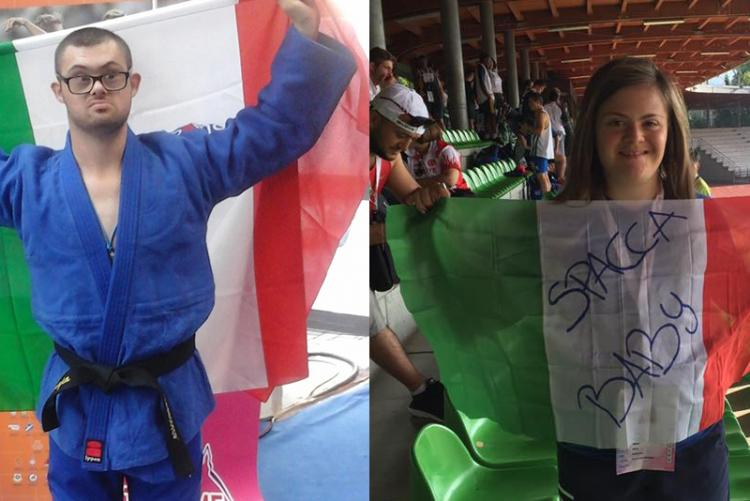 Francesco Verrengia e Nicole Orlando festeggiano l'oro