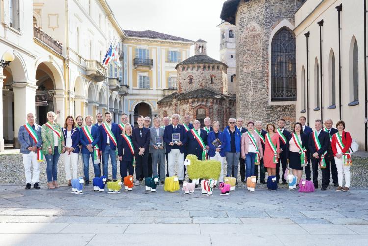 I sindaci di Terra della Lana insieme alla Commissione di Aces Europe