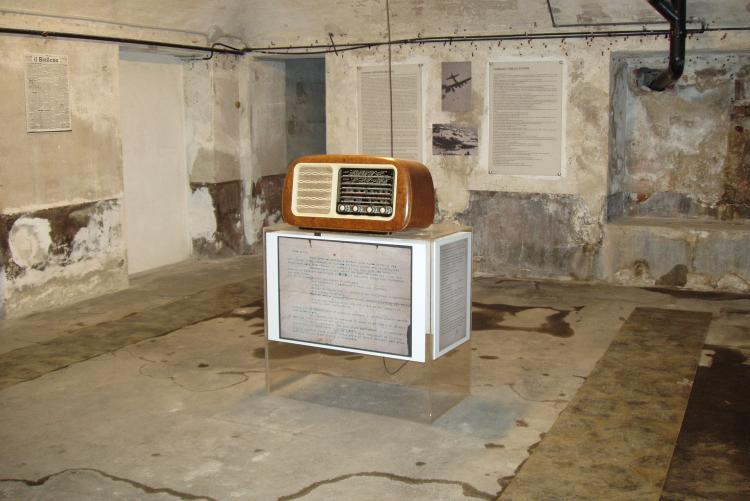 I sotterranei di villa Schneider (foto: Gigi Piana)