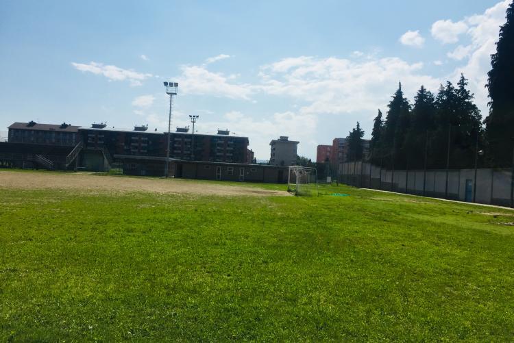 Il complesso sportivo di corso 53° Fanteria