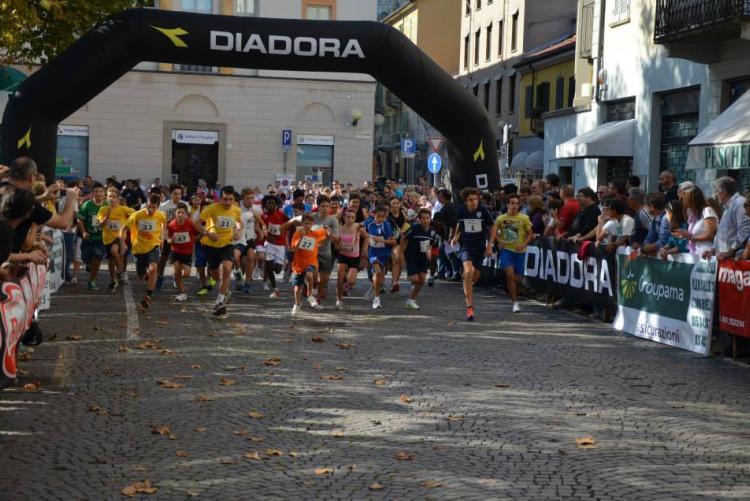 La partenza degli studenti in una passata edizione del circuito Città di Biella