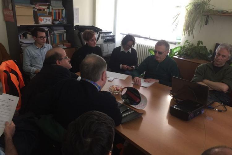 La riunione della commissione barriere con i rappresentanti dell'istituto Gae Aulenti
