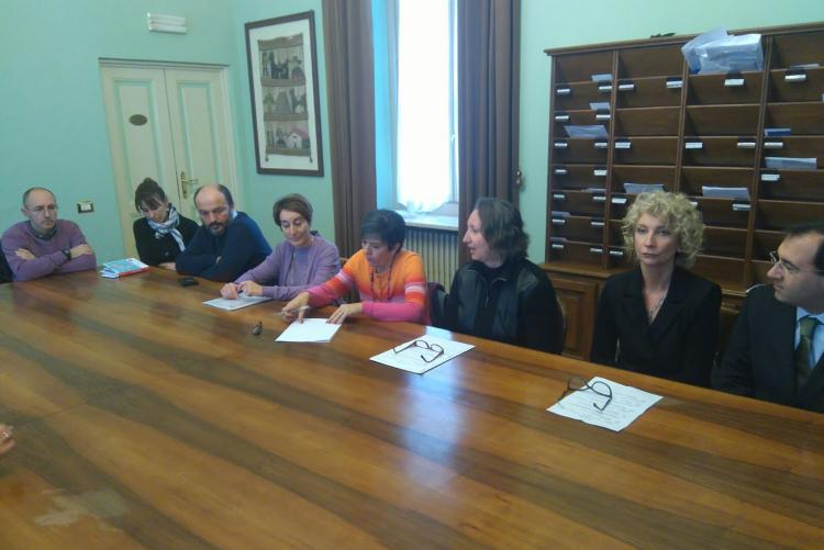 La conferenza stampa sulle iniziative della commissione barriere