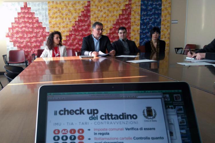 La conferenza stampa di presentazione del check up del cittadino