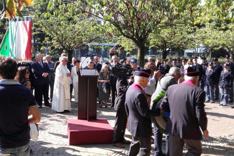 La cerimonia in memoria di Francesco Cusano il 1 settembre 2017