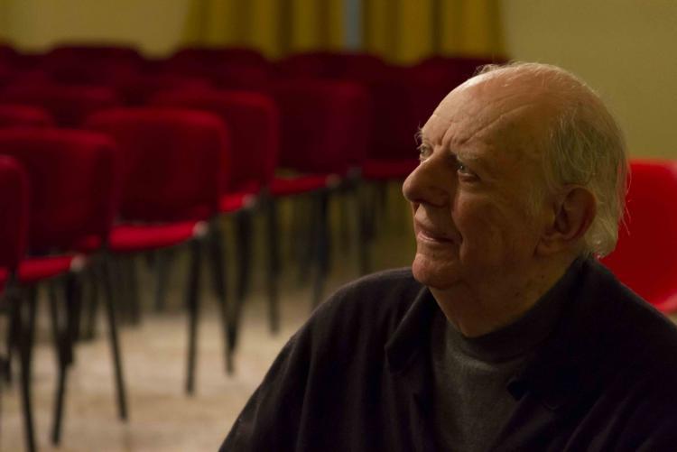 Dario Fo (foto Luca Vittorio Toffolon)