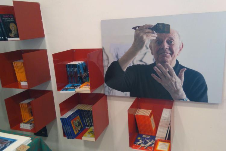La mostra di Dario Fo a Biella resterà aperta fino all'8 dicembre