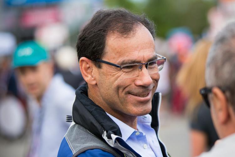 Davide Cassani nel 2017 a Oropa (foto Matteo Cerreia Vioglio)