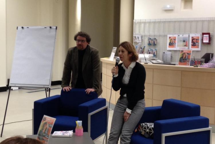 L'ultimo incontro in biblioteca con Claudia Elasti De Lillo