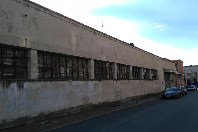 L'ex sede Atap vista da corso Risorgimento