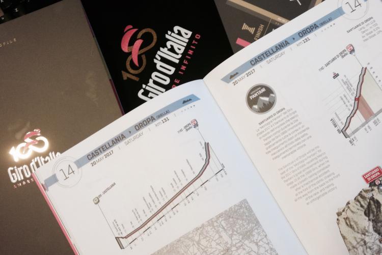 La Castellania-Oropa sul tracciato del Giro d'Italia