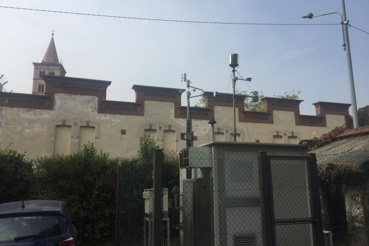 La centralina di villa Schneider in piazza La Marmora