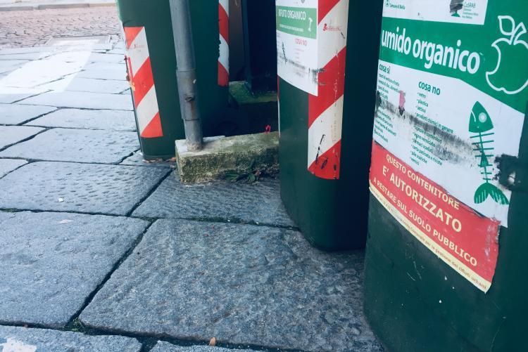 Contenitori per la raccolta dei rifiuti