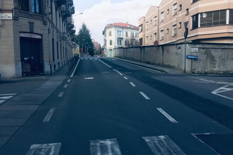 Il tratto di via Cavour che sarà interessato dal cantiere