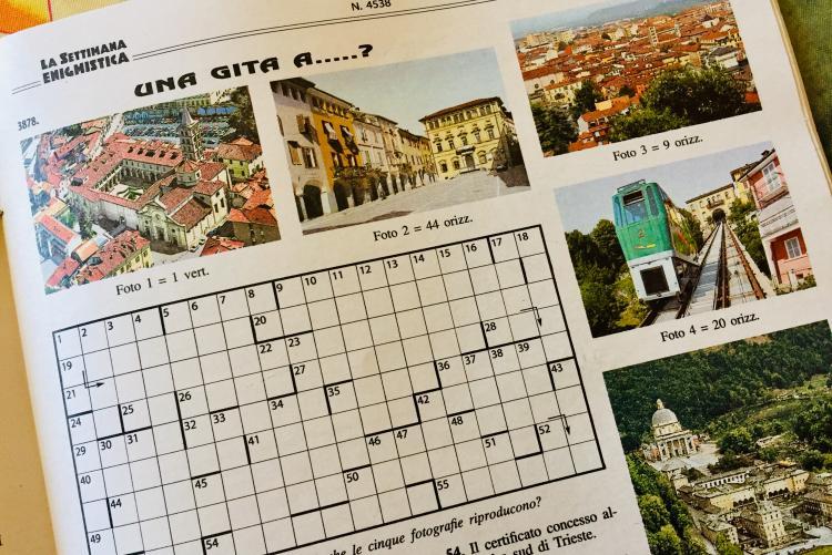 Il gioco de La Settimana Enigmistica dedicato a Biella