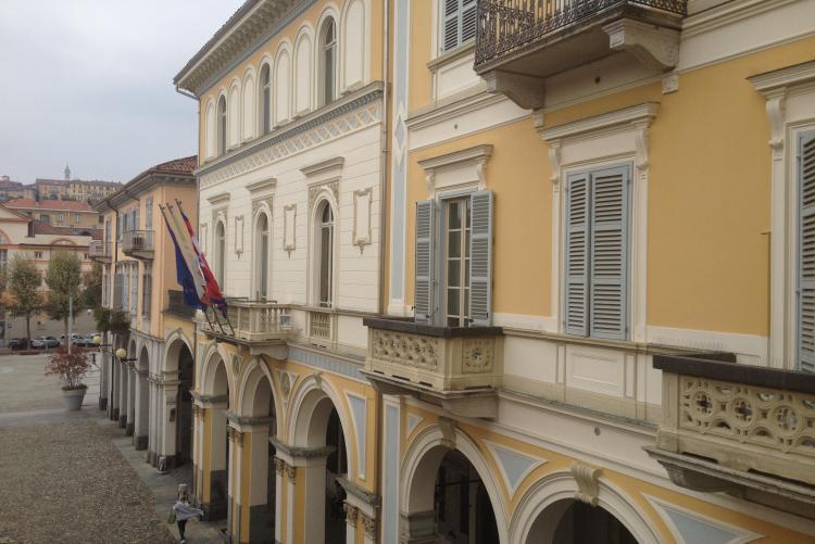 Palazzo Oropa, sede del Comune