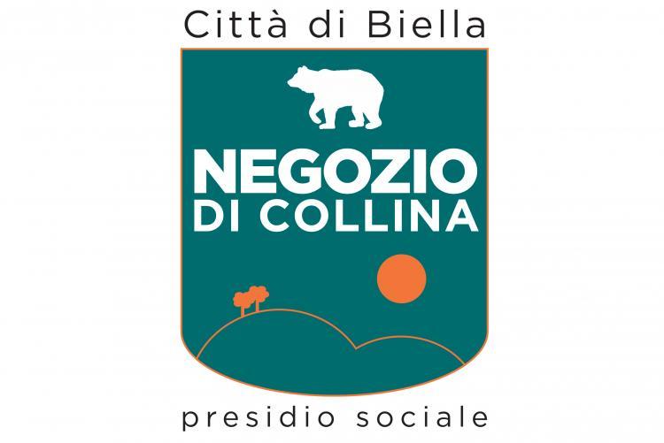 Il logo che sarà assegnato ai negozi di collina certificati
