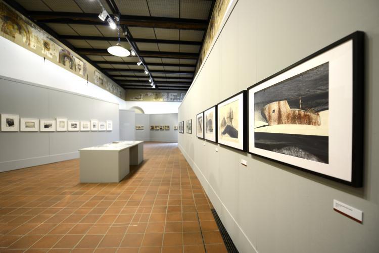 Palazzo Ferrero allestito per una mostra