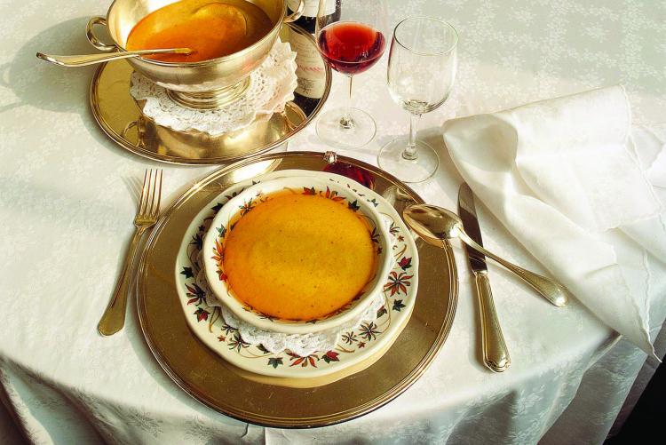 La polenta concia, piatto tipico di Oropa