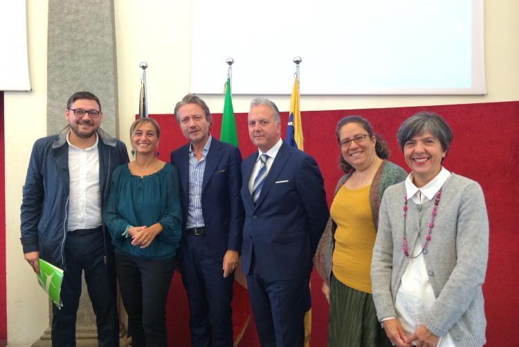 L'assessore Barresi a Torino alla presentazione della giornata nazionale del trekking urbano