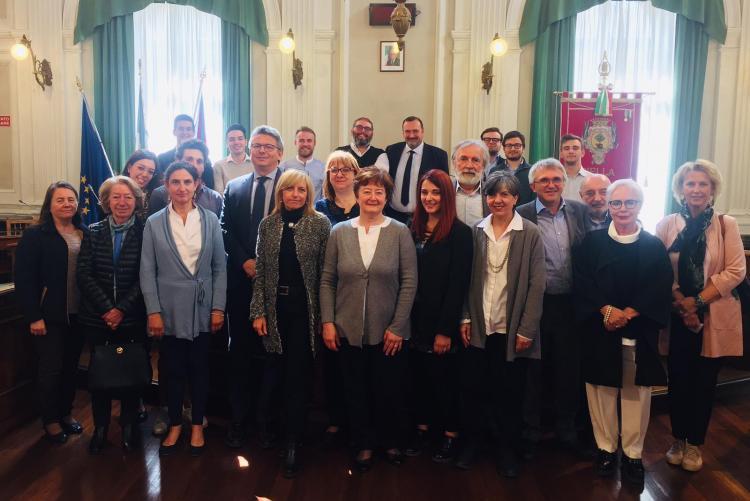La presentazione di Didone ed Enea in municipio