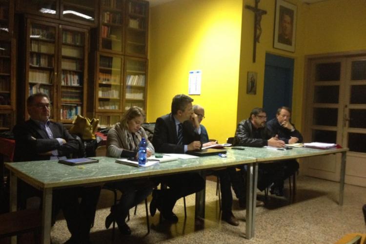 Sindaco e assessori all'ultima giunta nei quartieri in Riva