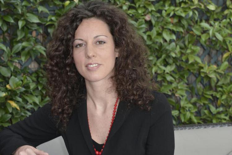 La scrittrice Silvia Avallone