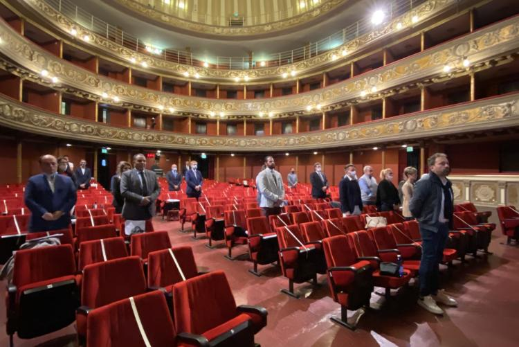 Il consiglio comunale al teatro Sociale Villani