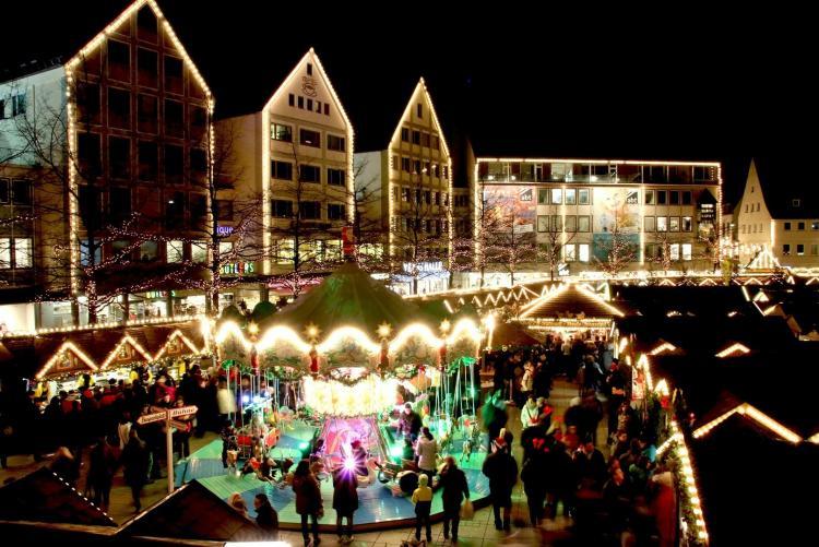 Il mercatino di Natale di Ulm