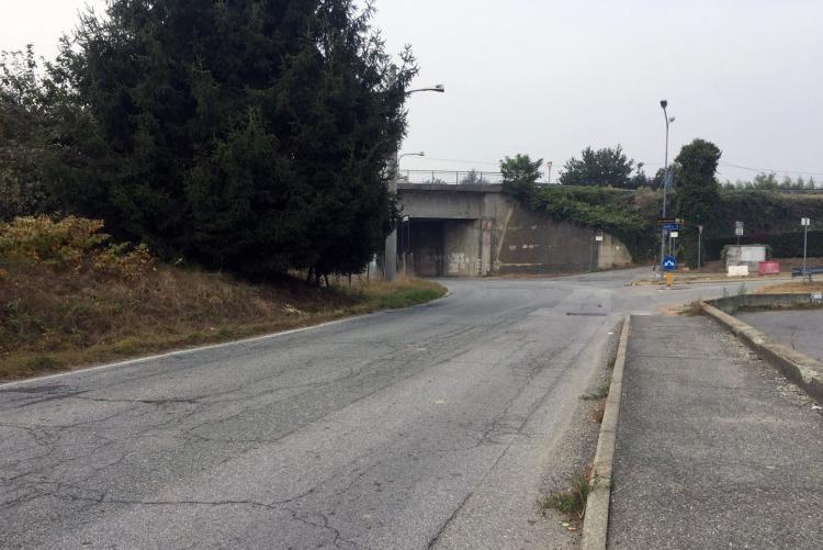 Il tratto di via Maglioleo che sarà chiuso da lunedì