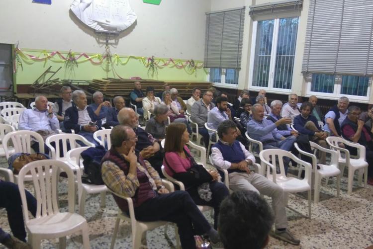 I cittadini alla giunta nei quartieri del Villaggio La Marmora