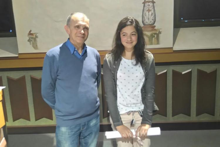 Gaia Fallacara (III C, Marconi), vincitrice del premio speciale