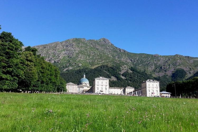 Il santuario di Oropa (Foto: Facebook/Santuario di Oropa - official)