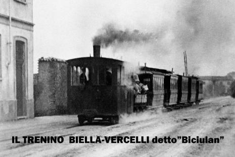 il trenino Biella Vercelli