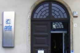 La sede Cordar di piazza Martiri