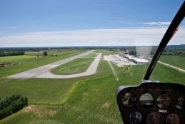 L'aeroporto di Cerrione