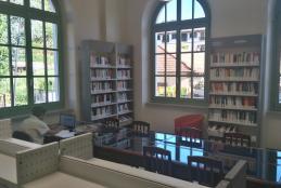 La nuova sala studio e lettura al primo piano