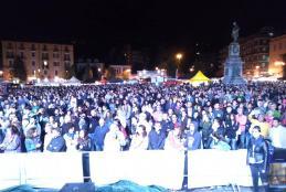 Piazza Martiri durante Bolledimalto 2018