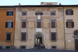 La sede del Collegio Puteano a Pisa (foto Gianni Careddu)