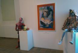 Tre opere di Dario Fo nelle stanze di Palazzo Ferrero