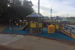 L'area giochi dello stadio La Marmora-Pozzo