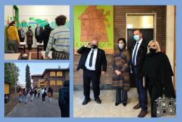 Inaugurazione della Ludoteca al Villaggio La Marmora