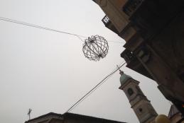 Le luci d'artista in via Italia