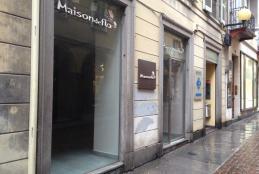 Il negozio di proprietà comunale di via Italia 27/c